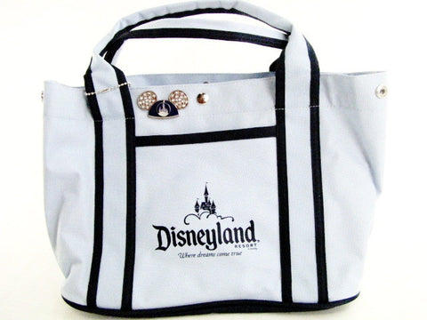 "Disneyland Resort ""Where Dreams Come True"" Hand Bag & 2007 Pin"