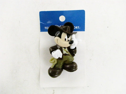 Tokyo Disney Resort Exclusive Indiana Jones Mickey Light-Up Keychain