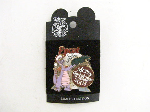 Disney World 2004 LE Figment Christmas EPCOT Trading Pin