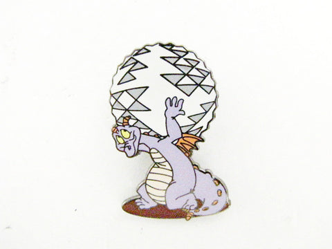 Disney World LE 750 Atlas Figment Spaceship Earth 2009 Trading Pin