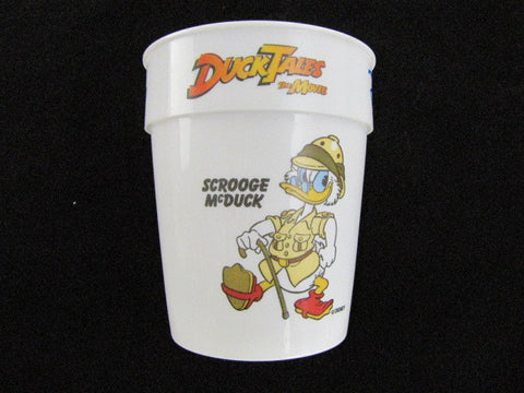 Disney 1990 Ducktales The Movie: Treasure Of The Lost Lamp Plastic Cup Set