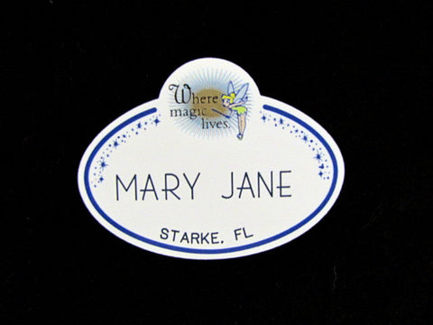 Disney World 2003 Magical Gatherings Cast Member Name Tag
