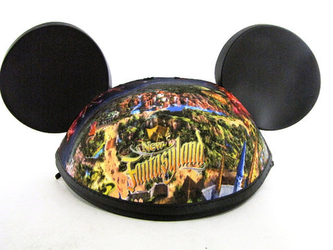 Walt Disney World 2012 New Fantasyland Cover & Mickey Mouse Ears