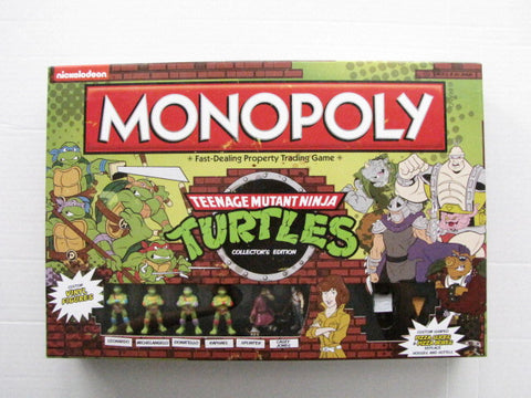 Teenage Mutant Ninja Turtles 2014 Collector's Edition Monopoly