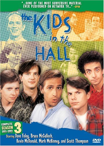The Kids In The Hall Complete Season 3 (1991-1992) TV Series 4 Disc DVD Set