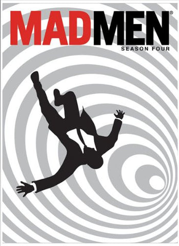 MAD MEN Season 4 AMC 2010 TV Series 4 Disc DVD Set