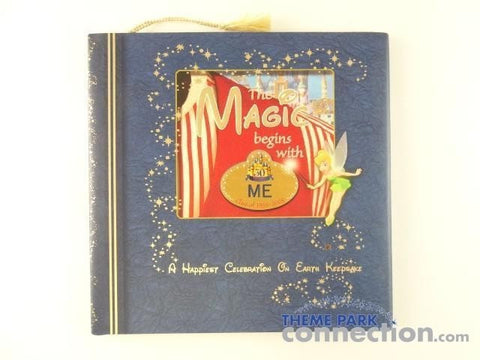 Disney Cast Member Exclusive THE MAGIC BEGINS WITH ME Happiest Celebration Keepsake Hardcover Book