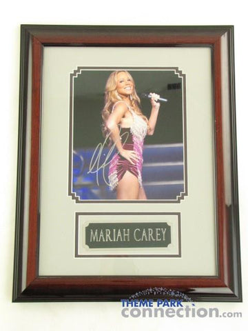 "MARIAH CAREY SIGNED Original Autograph 19""X15"" Framed Photo Photograph Display"