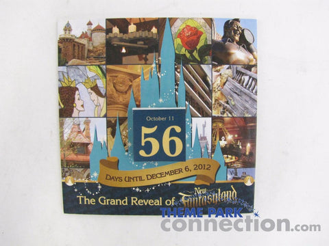 WALT DISNEY WORLD 2011 New FANTASYLAND CAST Member Exclusive Countdown Calendar