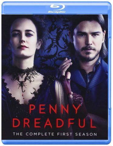 PENNY DREADFUL The Complete First Season 2014 Showtime TV Series 3 Disc Blu-ray Set