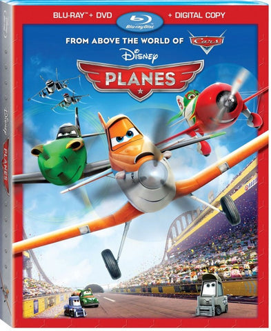 Disney PLANES 2013 Movie Blu-ray + DVD + Digital Copy Set