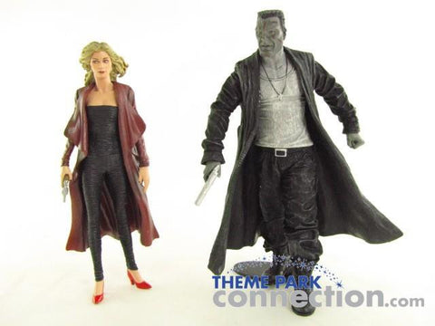 NECA Frank Miller SIN CITY Movie 2005 Series 2 CUT MARV & GOLDIE Action Figure Toy LOT