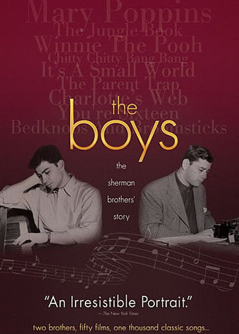 Disney THE BOYS The Sherman Brothers Story 2010 DVD
