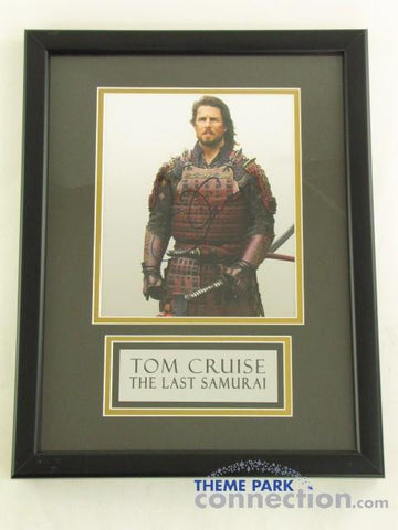 "TOM CRUISE SIGNED Original Autograph 18"" By 14"" Framed LAST SAMURAI Photo Photograph Display"