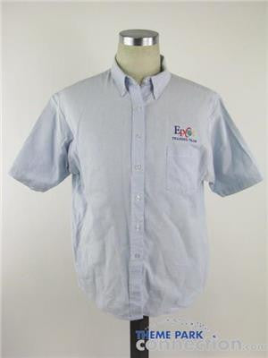 Disney Parks WDW Epcot Training Team Cast Member SS Button Down Shirt Size 20