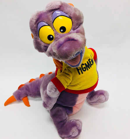 "Rare 1982 Disney Epcot Center Figment 18"" Vintage Plush"