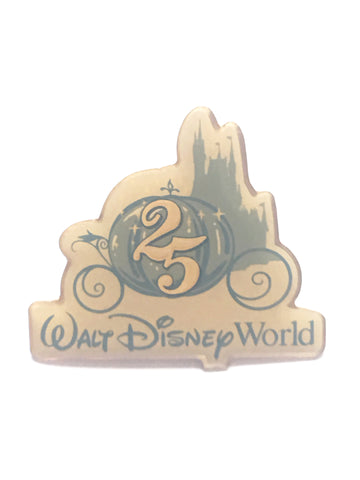 Walt Disney World 25th Anniversary Cast Member Pin