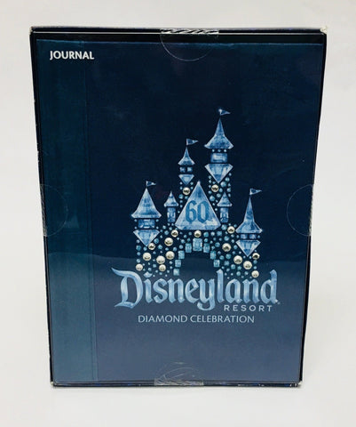 Disneyland Resort 60th Anniversary Diamond Celebration Keepsake Jeweled Journal