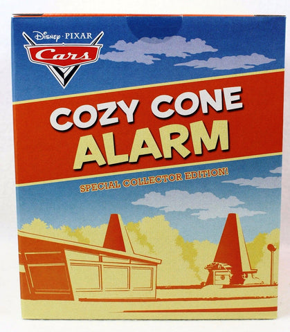 Disney 2017 D23 Expo Exclusive Cars Cozy Cone Alarm Clock