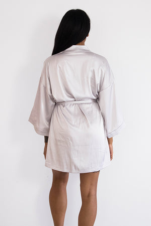 Grey Keepsake Robe