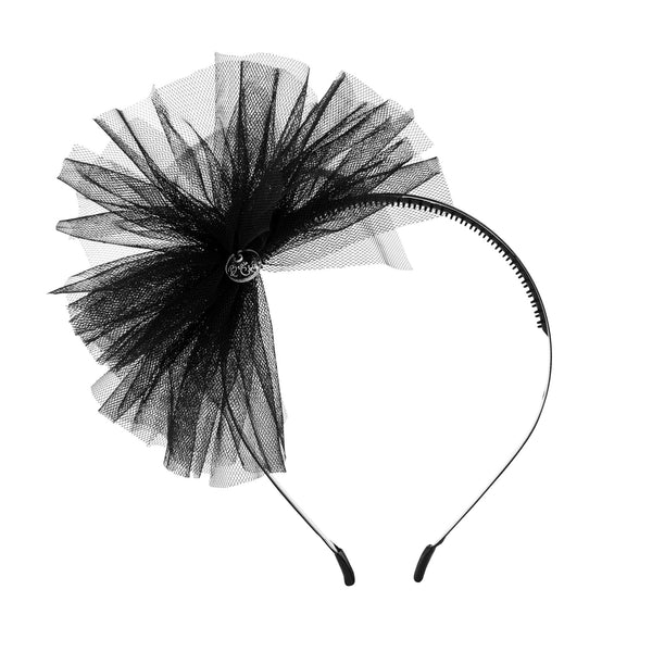 Tulle Whimsy Hairband//Black