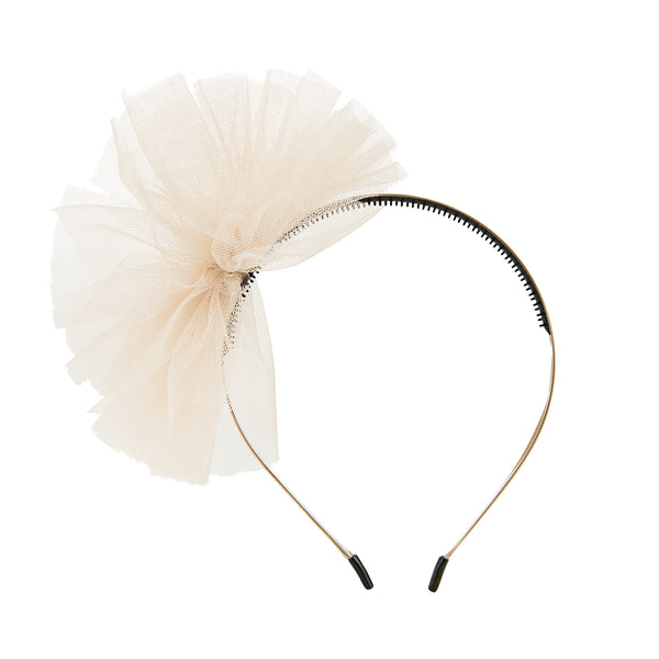 Tulle Whimsy Hairband//Gold
