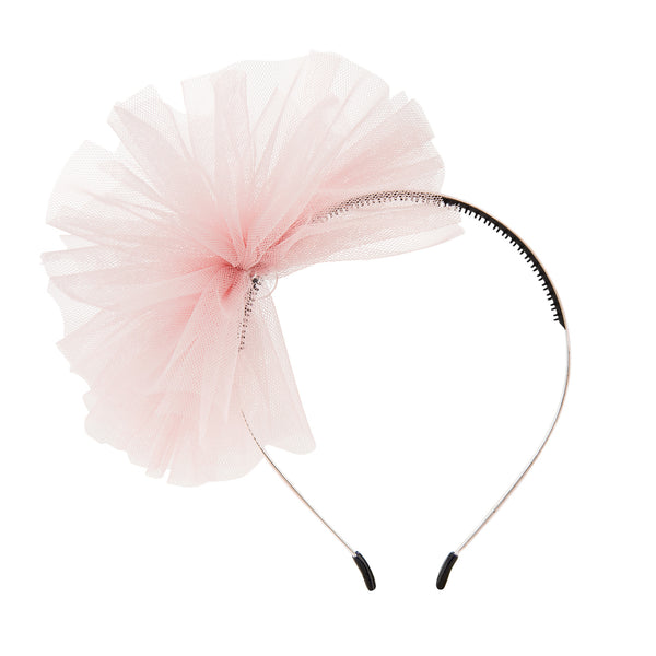 Tulle Whimsy Hairband//Pink