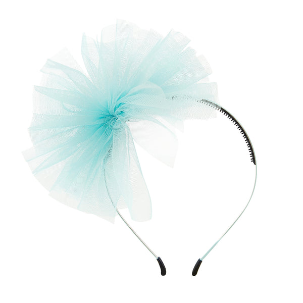 Tulle Whimsy Hairband//Teal