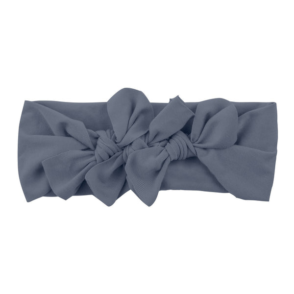 Bow Cluster Headwrap//Charcoal