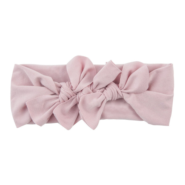 Bow Cluster Headwrap//Blush