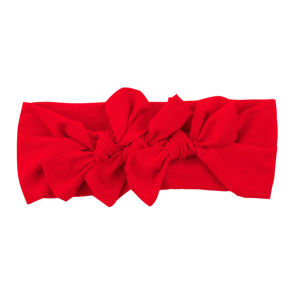 Bow Cluster Headwrap//Red