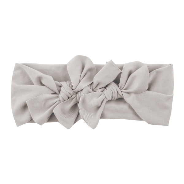 Bow Cluster Headwrap//Taupe