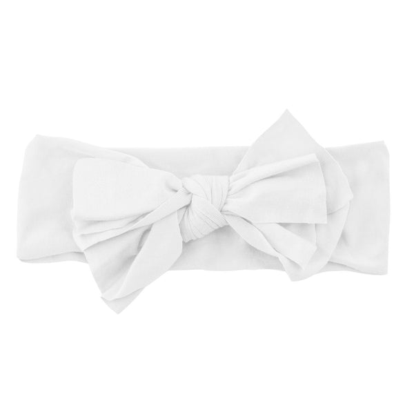 Bow Headwrap//White