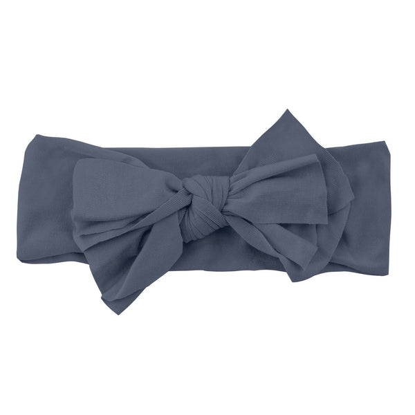 Bow Headwrap//Charcoal