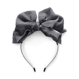 The Bow Chic//Gray