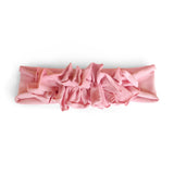 Ruffle Headwrap//Dusty Rose