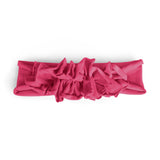 Ruffle Headwrap//Hot Pink
