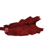 Basketweave Hairband//Garnet