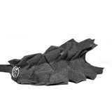 Basketweave Hairband//Charcoal
