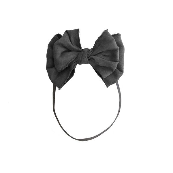 Beau Chic Baby Band//Charcoal