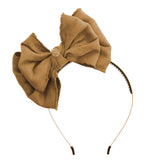 Beau Chic Hairband//Chestnut