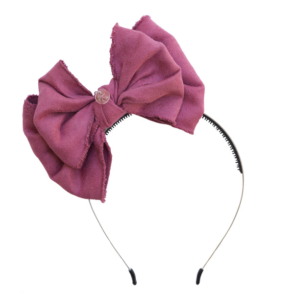 Beau Chic Hairband//Dusty Rose