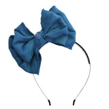 Beau Chic Hairband//Teal
