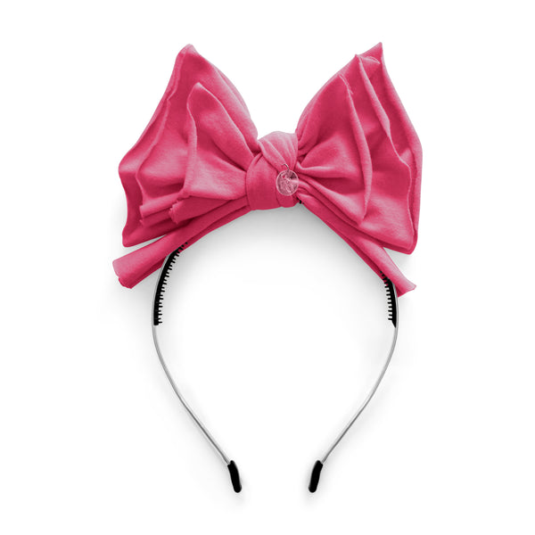 New Jersey Bow//Hot Pink