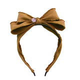 Miss Darling Hairband//Chestnut
