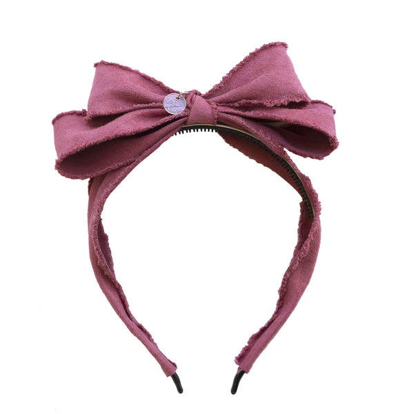 Miss Darling Hairband//Dusty Rose