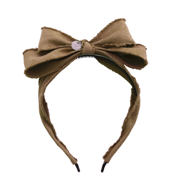 Miss Darling Hairband//Mocha