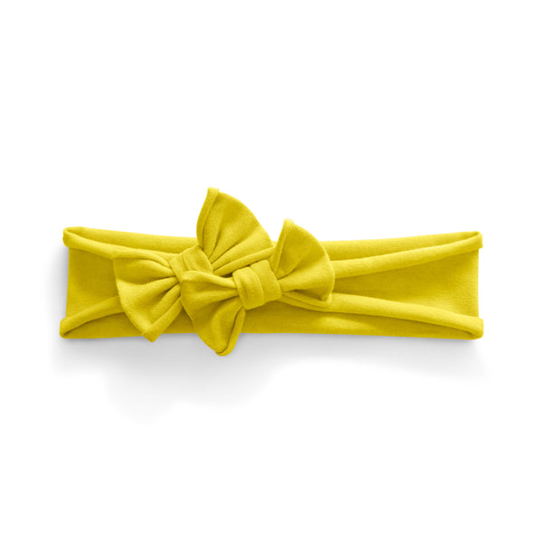 Petit Bows Headwrap//Yellow