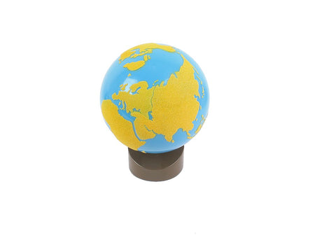 Globe of Land And Water - The Sandpaper Globe