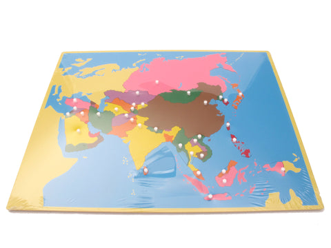 Geography set puzzle map collection pink montessori sale pinkmontesori puzzle map asia pink montessori montessori material for sale pinkmontessori gumiabroncs Image collections